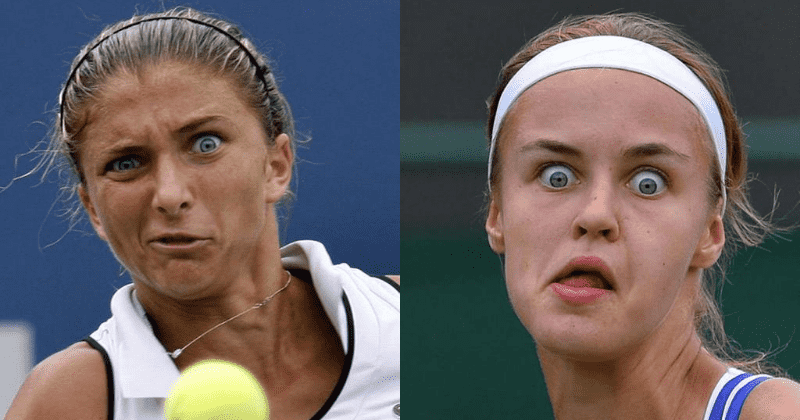 14 Weirdest Encounters With The Tennis Ball In Pictures