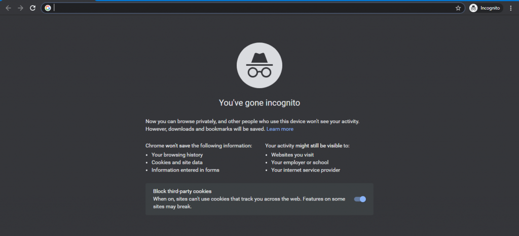 Incognito: How To Browse In Private