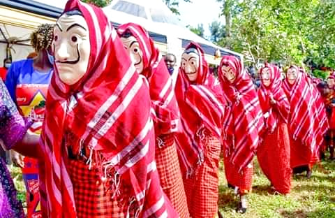 Kenyan Community Redesigns The Art Of Traditional Marriage Ceremony With Money Heist Masks