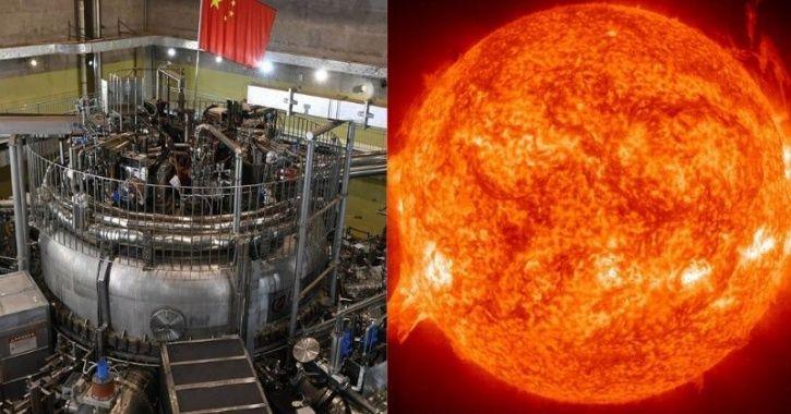 Chinese artificial sun HL-2M Tokamak