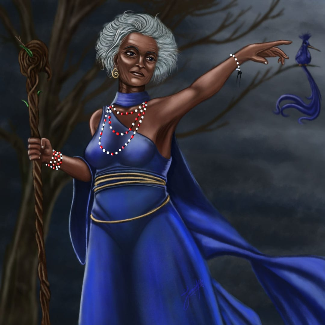 Prophetess Mepoho illustration