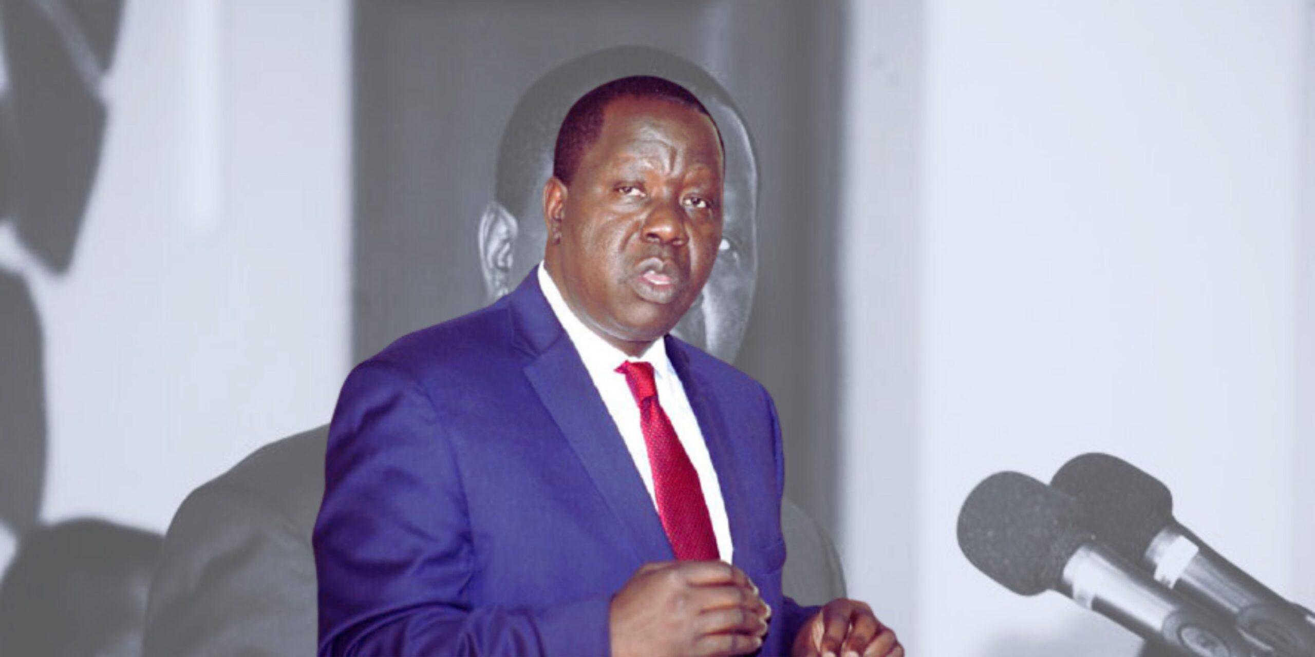 MP Arama takes a stand against Matiangi impeachment plan